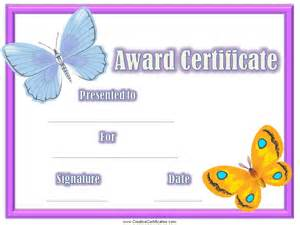 Free Printable Award Template by Student Certificate Awards Printable Certificate Templates