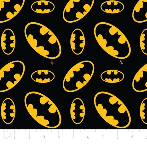 batman wallpaper material design 100 cotton batman black tossed emblem print fabric by the
