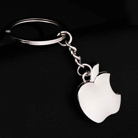 apple keychain tomtosh new arrival novelty souvenir metal apple key chain