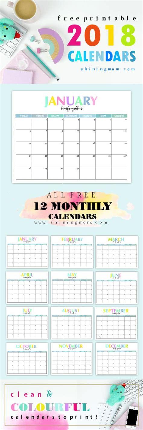 melhores ideias de calendario pinterest