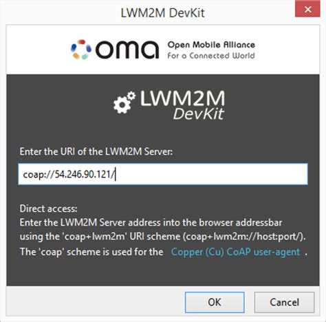 oma lwm2m devkit by openmobilealliance