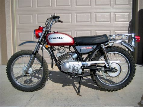 Vintage Kawasaki by 1969 Kawasaki C2tr Quot Roadrunner Quot 120cc With Dual Range