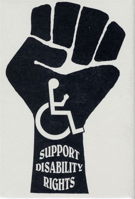 disability rights section a short history of the disability rights movement 1960
