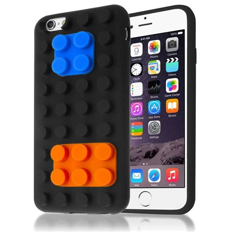 3d Building Blocks Brick Style Soft Silicone Iphone 6 Black 3d building blocks brick style soft silicone for iphone 6 black toko fatih