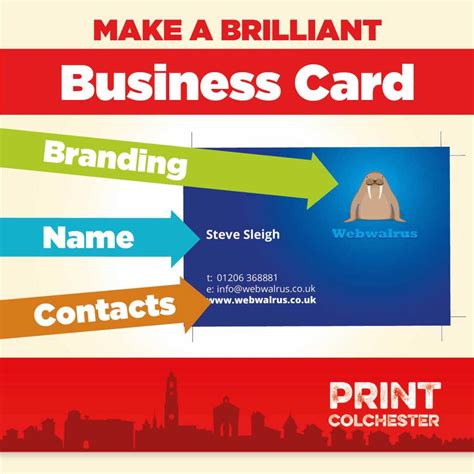 make and print business cards how to design a brilliant business card
