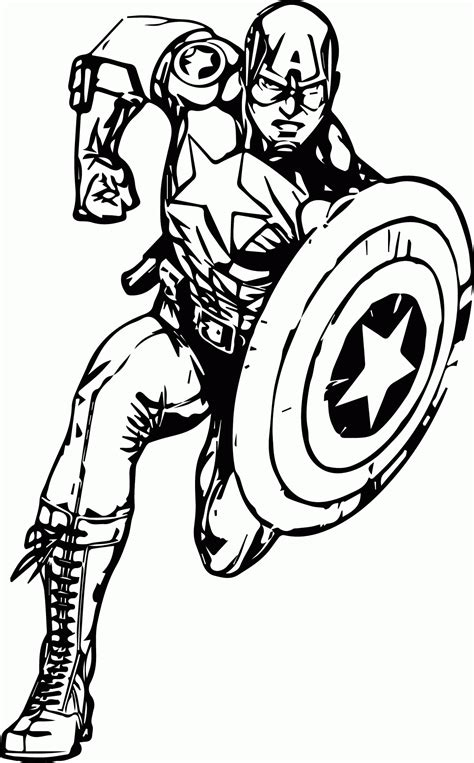 captain america face coloring pages coloring home