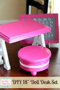 Pink Desk Chair Target Diy American Doll Furniture
