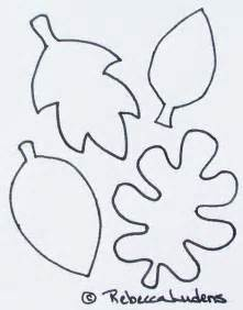 leaf template free free leaf templates coloring pages