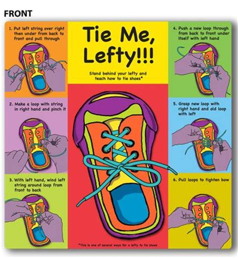 when should learn to tie shoes left handed ties and left handed problems on