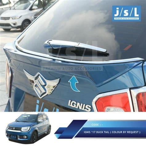 Suzuki Ignis Cover Penutup Mobil ducktail spoiler pintu bagasi suzuki ignis aksesoris mobil di carousell
