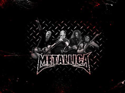 imagenes hd bandas de rock papel de parede metallica banda de rock wallpaper para
