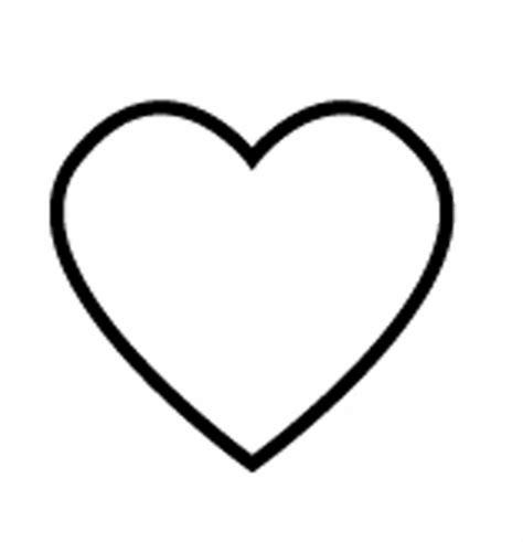 Kostenlose Vorlage Herz Kostenlose Malvorlage Hochzeit Und Liebe Herz Zum Ausmalen