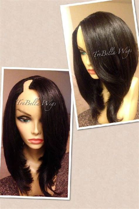 lace closure bob wig trebella u part wigs my style pinboard pinterest wigs
