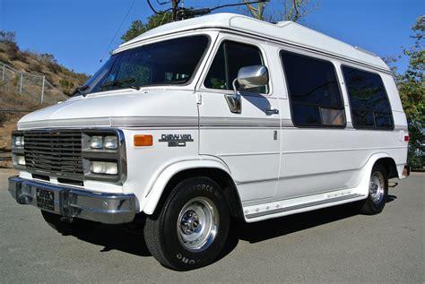 van with bed chevrolet g20 conversion van solar mini rv 350 explorer w