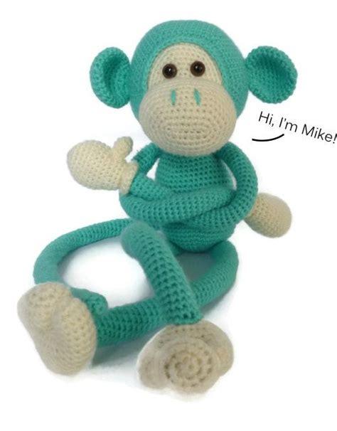amigurumi pattern monkey mike the monkey amigurumi crochet pattern