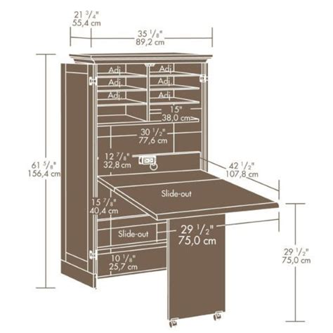 sewing armoire cabinet wood sewing machine craft armoire scrapbooking table