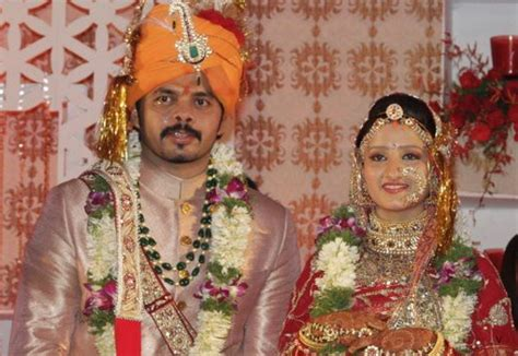 Cricketer sreesanth marriage pics of shahid