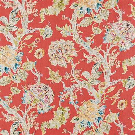 ballard design fabric rayna coral fabric by the yard ballard designs