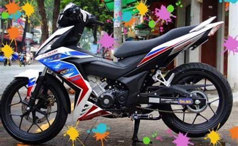 Lu Led Motor Honda Supra galeri modifikasi striping honda supra gtr 150 versi rwb