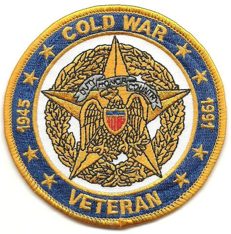cold war veterans seek recognition for their service cold war veteran 1945 1991 patch other