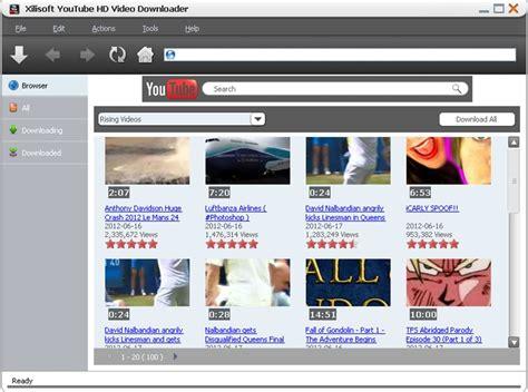 download youtube video hd xilisoft youtube hd video downloader screenshot