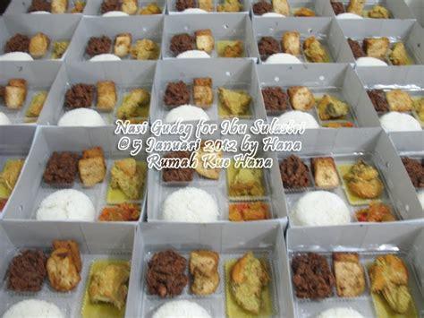Cup Kue Kotak rumah kue hana nasi kotak gudeg komplit for ibu sulastri