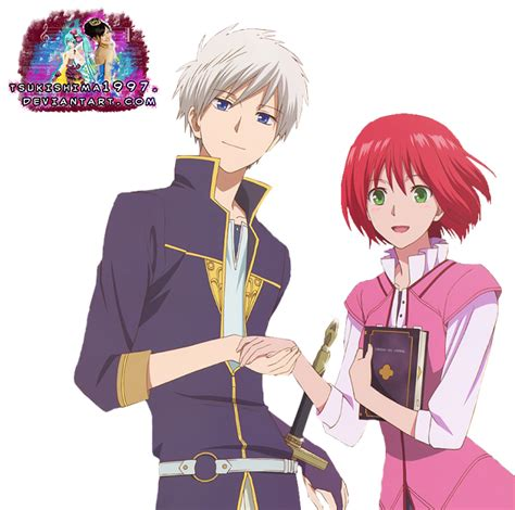 imagenes de zen y shirayuki akagami no shirayuki hime zen and shirayuki render by