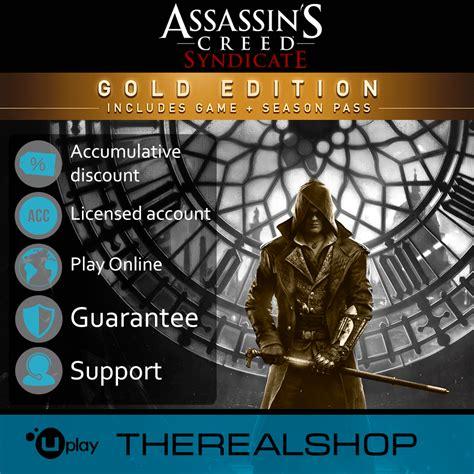 Assassins Creed Syndicate Season Pass Uplay buy assassin 180 s syndicate gold season pass warranty and