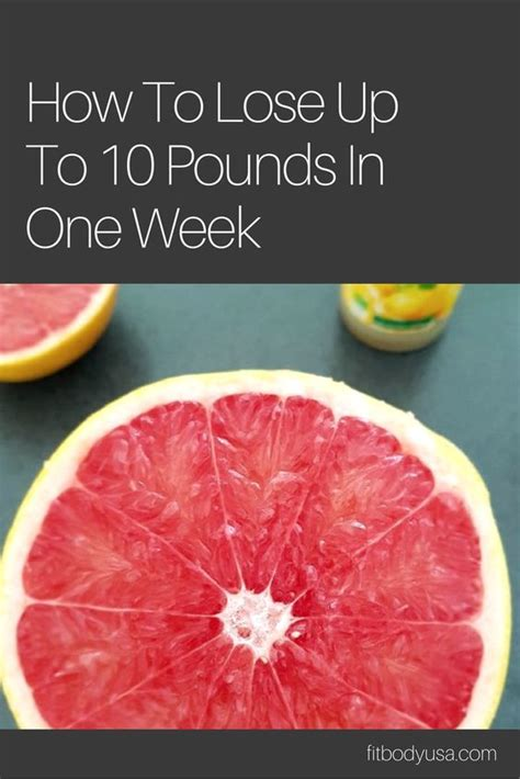 Lose 10 Pounds In One Week Detox by Lose Up To 10 Pounds In One Week Egg Grapefruit Diet