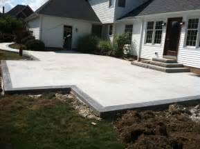 patio border g m concrete architectural concrete