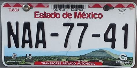 placas del estado de mexico placas de autos de m 233 xico y otras cos 999 as