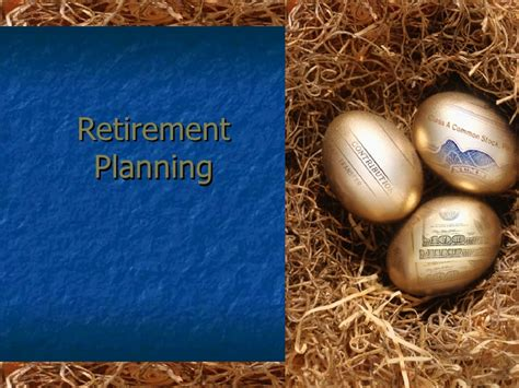 retirement templates for powerpoint retirement planning ppt