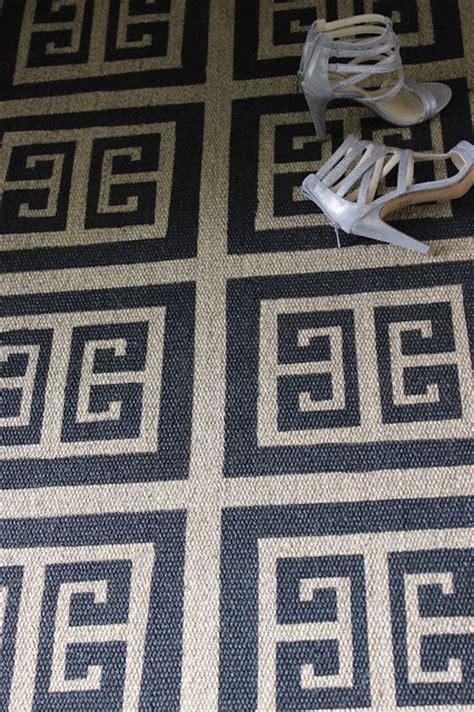 rug stencils simple details diy stenciled ikea rug