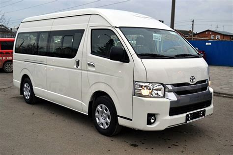 Minibus 9 Places Toyota Occasion   2017   2018 Best Cars Reviews