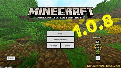 apk minecraft pe minecraft pe 1 0 8 1 0 8 1 apk