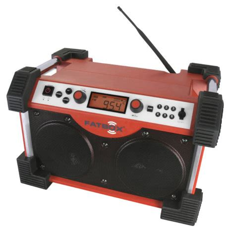 rugged fm radio sangean fatbox ultra rugged am fm radio receiver by sangean at mills fleet farm