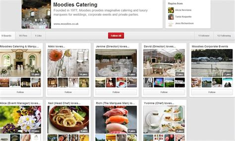 pinterest us follow us on pinterest moodies marquees