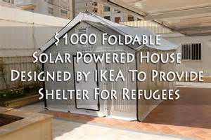 ikea flat pack house for sale 1000 foldable solar powered house designed by ikea to