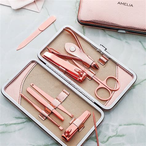 Manicure Set personalised manicure set by