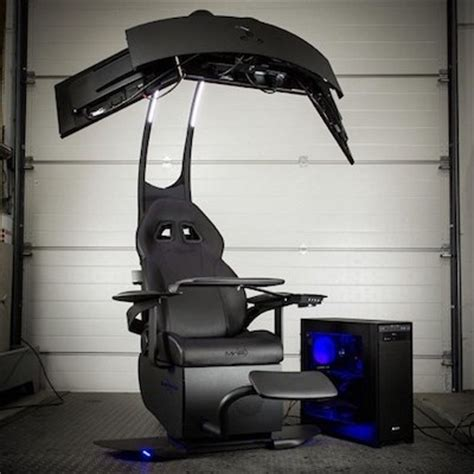 The Emperor Gaming Chair by Ultimate Gaming Chairs High Ground Gaming