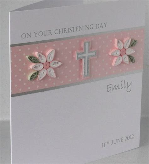 Handmade Baptism Cards - 25 best ideas about handmade christening cards on
