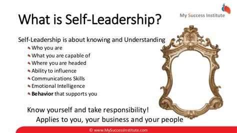 what is selves small business branding day your self leadership