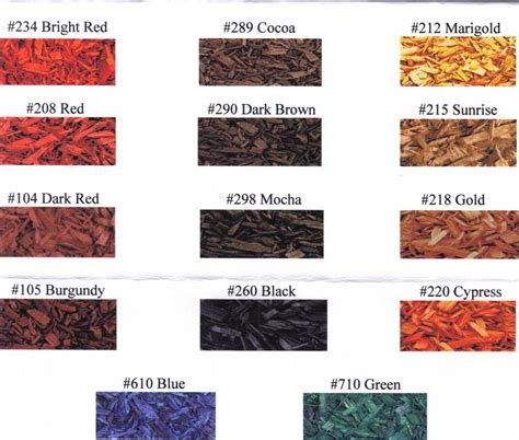 mulch colors mulch colors from recycling wood products inc in