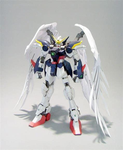 xxxg 00w0 gundam wing zero papercraft by rarra