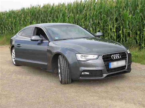 Audi A5 Angebote by Audi A5 2 0 Tdi Sportback Dpf S Line Xenon 19 Tolle