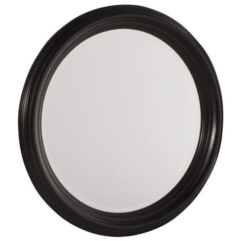black mirror american american drew camden black collection round mirror 919 015