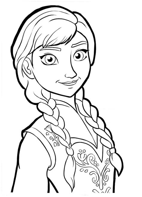 frozen coloring pages momjunction free elsa y ana coloring pages