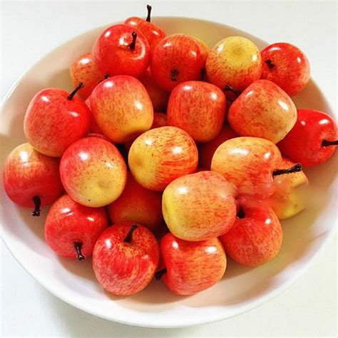 Kitchen Apples Home Decor Popular Decorative Artificial Fruit Buy Cheap Decorative
