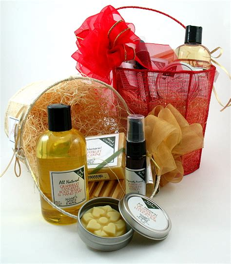 christmas gift soaps and gift baskets susan s natural