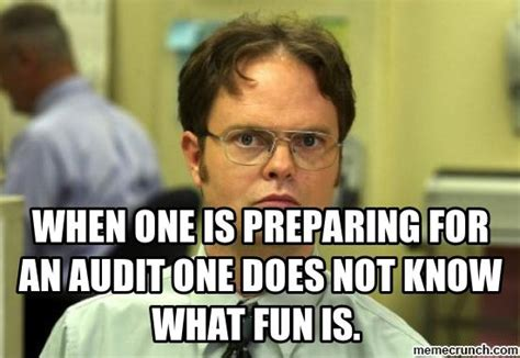 What Is S Meme - when one is preparing for an audit one does not know what
